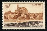 FRANCE 1955 - Yv. 1019 ** TB  Cote= 2,00 EUR - Limoges ..Réf.FRA28329 - France