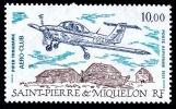 ST-PIERRE ET MIQUELON 1991 - Yv. PA 70 **   Faciale= 1,52 EUR - Avion Piper Tomahawk ..Réf.SPM10764 - Airplanes