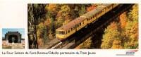 SNCF - LE TRAIN JAUNE - Pyrénées-Orientales : Le Four Solaire De Font-Romeu/Odeillo - Transports