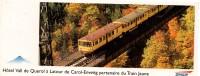 SNCF - LE TRAIN JAUNE - Pyrénées-Orientales : Hôtel Vall De Carol-Enveitg - Transports