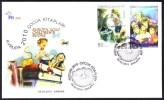 OD-1527 2010 EUROPA CEPT CHILDREN'S BOOKS F.D.C. - 1921-... Republik