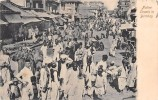 "02892 ""NATIVE STREET IN BOMBAY"" ANIMATA.  CART.  SPED. 1913 - India"