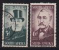 SOUTH AFRICA UNION 1955 Used Stamps Pretoria Ventenary  Nrs. 253-254 - South Africa (...-1961)