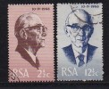 South Africa 1968 Cancelled To Order  Stamp(s) Fouche 361-362 - South Africa (1961-...)