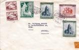 CHILE 1964 - 6 Fach Frankierter Brief Gel.v.Santiago N. Wien - Chile
