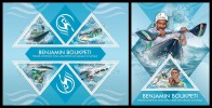 TOGO 2013 - Benjamin Boukpeti, Rafting - YT 3384-7 + BF706; CV = 32 €