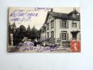 Carte Postale Ancienne : LA HARAZEE : Route Four De Paris, Maison, Animée En 1913, RARE - Andere Gemeenten