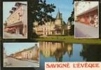 Savigné L´Evêque. Multivues. (Bars Restaurants). - France