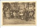Genval  Home Des Vétérans Coloniaux Groupe De Pensionnaires Et Leur Famille - Rixensart