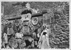 """02902 """"ADIS ABEBA - UNA FONTANA""""  ANIMATA. CART.  SPED. 1937 - Etiopia"""