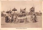 """02904 """"ERITREA - FESTA DEL MASCHEL - DAMERAN""""  ANIMATA, USI E COSTUMI.  1936 CART. NON SPED. - Eritrea"""
