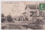 CPA - Thoisy Le Désert -- La Gare P L M      Locomotive A Vapeur - Altri Comuni
