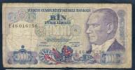 "1000 Lira ""TURQUIE""  1970    Ro14 - Turkey"