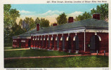 West Range, Showing Location Of Edgar Allen Poe Room, Charlottesville Virginia - United States