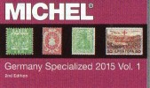 Germany Specialized Vol.I 2015 Neu 84€ Deutsche Reich Colonies Danzig Memel Stamps To 1945 Special Catalogue Old Germany - Advertising
