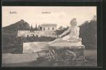 AK Korfu, Römerstatue Im Garten Des Achilleion - Grèce