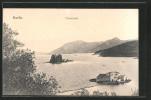 AK Korfu, Blick Zur Toteninsel - Grèce