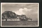 AK Corfou, Vue De La Citadelle - Grèce