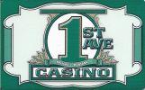 1st Avenue Casino - Montana - Blank Sample Slot Card   ...[RSC][MSC]... - Casino Cards