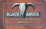 Black Angus Casino - Bozeman Montana - Blank Sample Slot Card   ...[RSC][MSC]... - Casino Cards