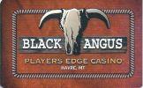 Black Angus Casino - Havre Montana - Blank Sample Slot Card   ...[RSC][MSC]... - Casino Cards