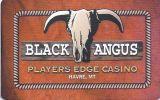 Black Angus Casino - Havre Montana - Printed Slot Card With Barcode   ...[RSC][MSC]... - Casino Cards