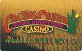 Cactus Creek Casino - Montana - Blank Sample Slot Card   ...[RSC][MSC]... - Casino Cards