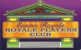 Casino Royale Montana Blank Slot Card - Casino Cards