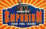 Emporium Casino - Havre Montana - Blank Sample Slot Card    ...[RSC][MSC]... - Casino Cards