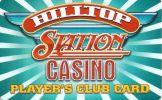 Hilltop Station Casino - Montana - Blank Sample Slot Card    ...[RSC][MSC]... - Casino Cards