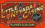 Little Nevada Casino - Montana - Blank Sample Slot Card With Glossy Reverse  ...[RSC][MSC]... - Casino Cards