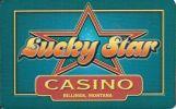 Lucky Star Casino - Billings Montana - BLANK Sample Slot Card    ...[RSC][MSC]... - Casino Cards