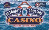 Miss Trudy's Poolside Casino - Havre Montana - Blank Sample Slot Card   ...[RSC][MSC]... - Casino Cards