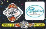 Paradise Falls Casino - Montana - Blank Sample Slot Card   ...[RSC][MSC]... - Casino Cards