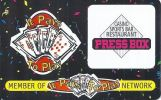 Press Box Casino - Montana - Blank Sample Slot Card   ...[RSC][MSC]... - Casino Cards
