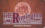 The Remington Casino - Whitefish Montana Slot Card (Blank) - Casino Cards