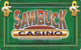 Sawbuck Casino - Montana Slot Card (Blank) - Casino Cards