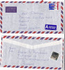 1995 Air Mail ICELAND COVER FISH Stamps CAT LABEL To GB, Cats,  Airmail Label - 1944-... Republique