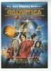 1997 BATTLESTAR GALACTICA Advert POSTCARD Richard Hatch Christopher Golden ´ARMAGEDDON Book Tv Television - TV Series