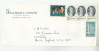 USA COVER Multi Stamps CAPTAIN COOK  To GB - United States