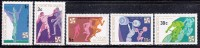 Cook Islands MNH Scott #372-#376 Set Of 5 Sports Diving, Boxing, Track, Weightlifting, Cycling - Commonwealth Games, NZ - Cook