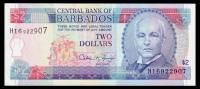 Barbados 2 Dollars 1995 P.46 XF+ - Barbados