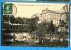 AVR593, Carrières Sur Seine, Mairie Et Jardin Public, Circulée 1912 - Carrières-sur-Seine
