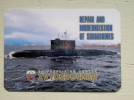 Calendar From Russia 2015 Submarine - Kalender