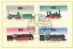 GERMANY DDR 1975 VINTAGE LOKOMOTIVE TRAIN GERMAN YOUTH STAMP
