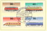 GERMANY DDR 1975 LOKOMOTIVE TRAIN GERMAN YOUTH STAMP
