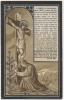 Doodsprentje/Image Pieuse Mortuaire. Pastoor Cyriel Claus. Geraardsbergen 1851/Gent 1913. - Images Religieuses