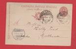 Italie //  Entier Postal  //  De Rome  //  Pour Mulhouse  //  2 Mars 1902 - Interi Postali