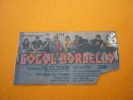 Gorgol Bordello used concert Greek ticket in Thessaloniki Greece 2009