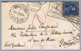 Heimat Rasierklingen-O Genève #6.06 1922-04-04 Ankunft Razor Neues Spätdatum Aus USA - Stati Uniti